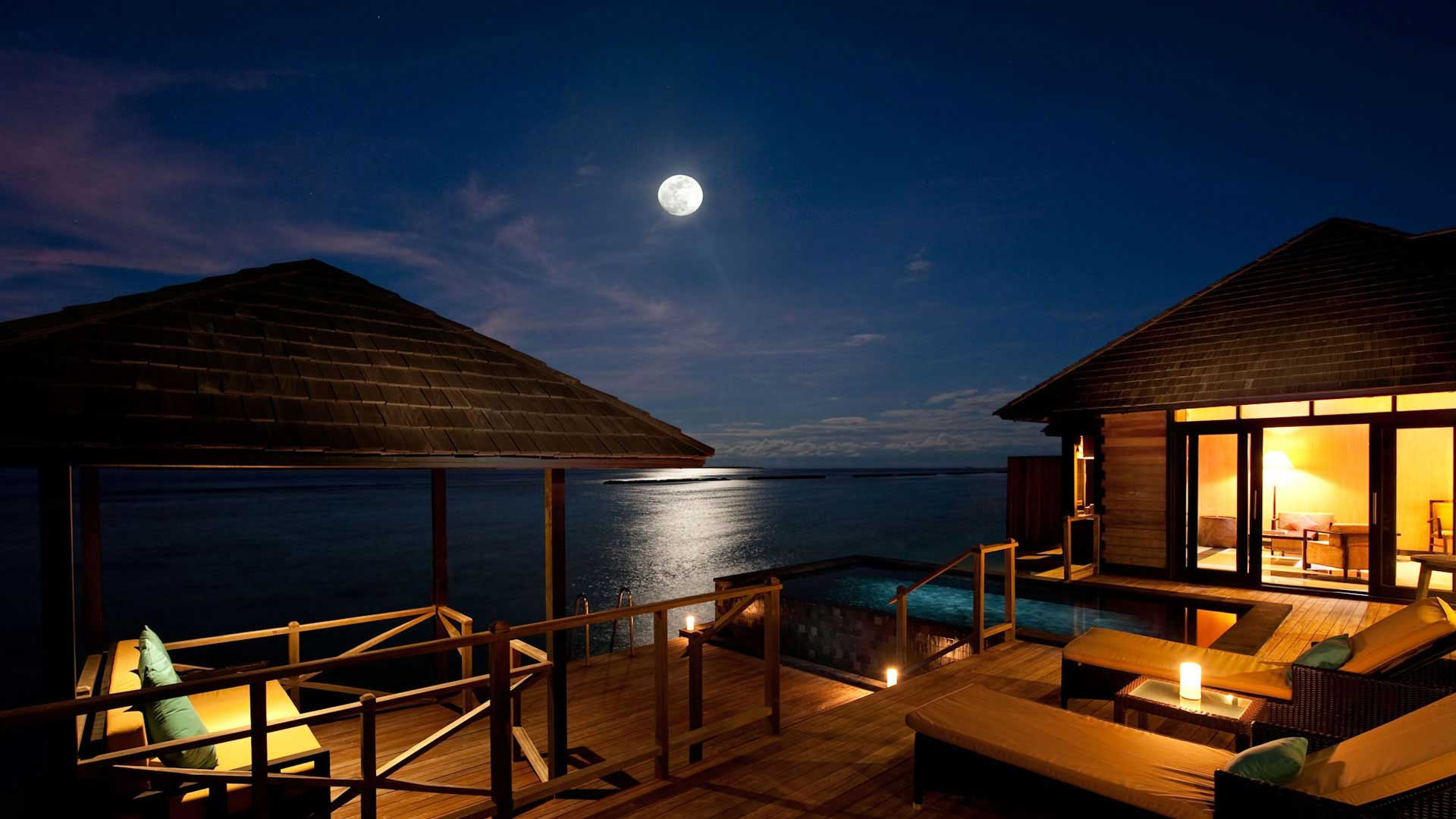 maldivlerde özel bir tatil