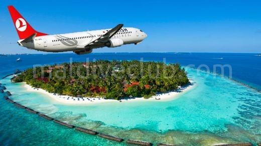 Maldivler'e Hava Yollarıyla Ulaşım