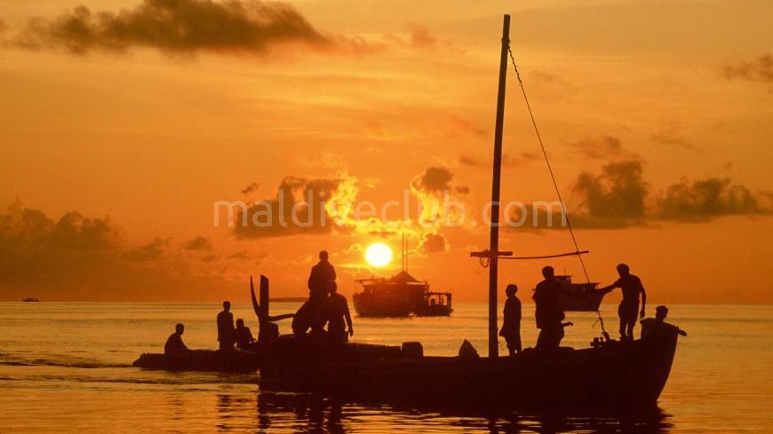 Maldivler'de Balık Avı