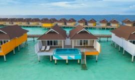 2 Odalı Lagun Su üzeri Villa