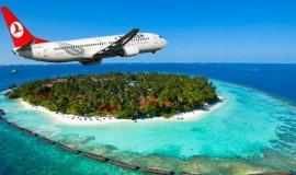 Maldivler'e Uçak Bileti