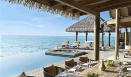 4 Odalı Havuzlu Su üzeri Residence