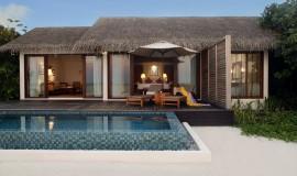 1 Odalı Kumsal Villa Havuzlu