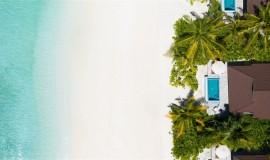 Lagun Havuzlu Kumsal Villa
