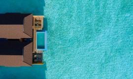 2 Odalı Havuzlu Lagun Su üzeri Villa