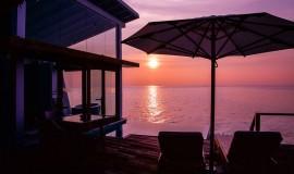 Okyanus Su üzeri Villa Havuzlu