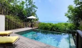 Okyanus Manzaralı Havuzlu Villa