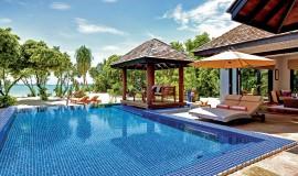 2 Odalı Aile Kumsal Villa Havuzlu