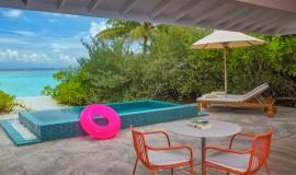2 Odalı Lagun Kumsal Villa