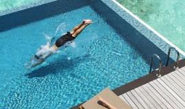 1 Odalı Su üzeri Villa Havuzlu