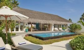 3 Odalı Kumsal Günbatımı Villa