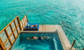 Havuzlu Günbatımı Su üzeri Villa