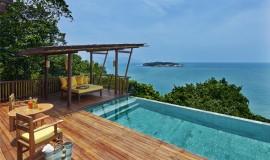 Okyanus Önü Havuzlu Suite Villa